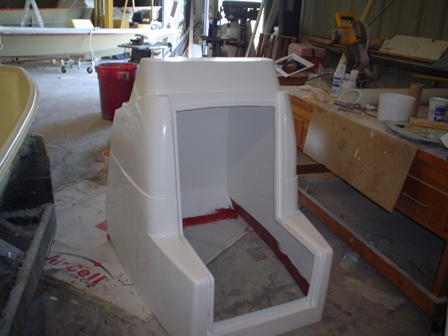 center console for tarpon fishing boat