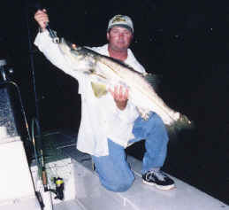 Night fishing Cape Coral