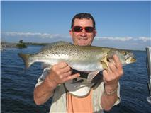 large speckled trout for Pine Island