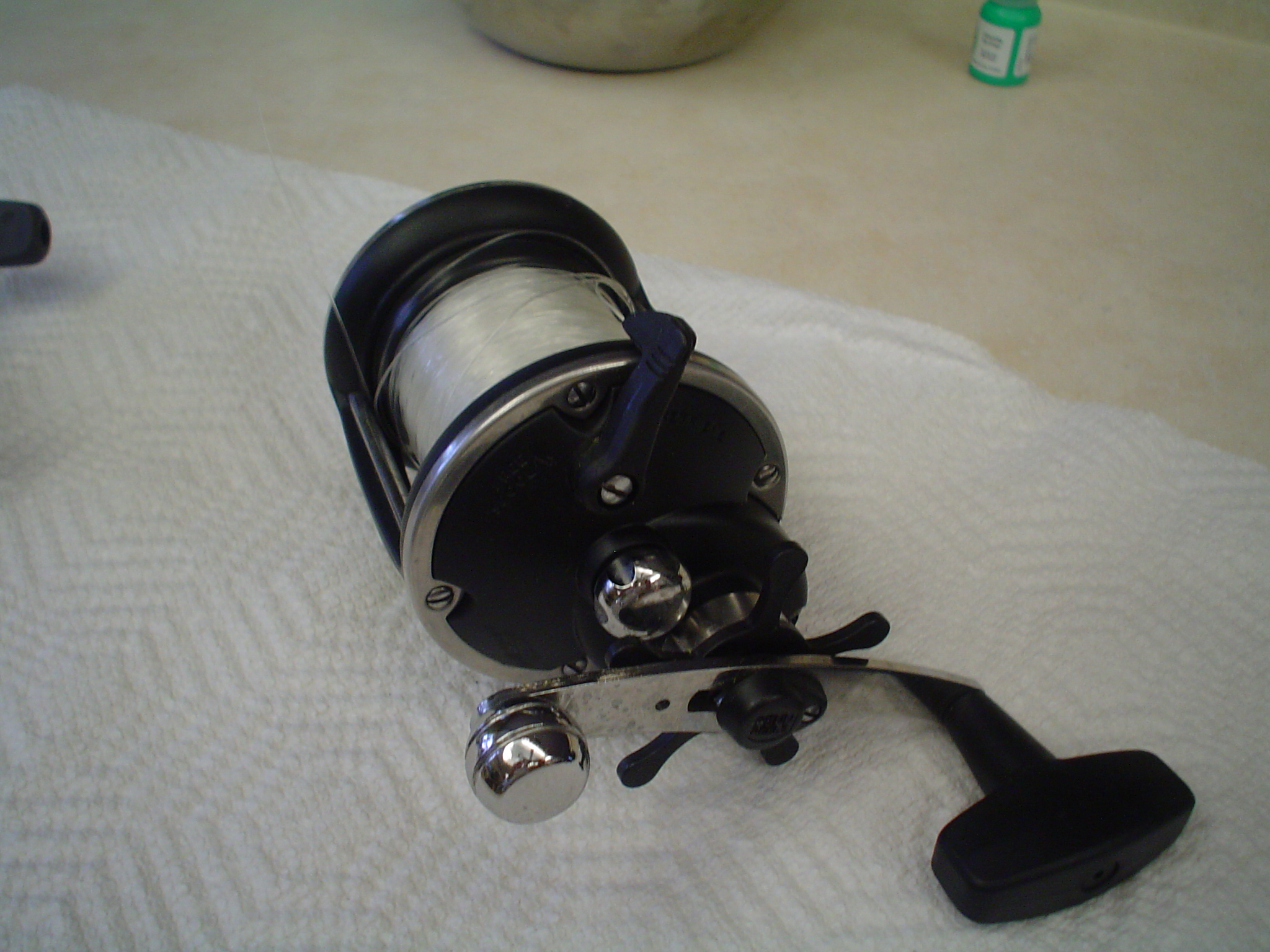 used fishing equipment and airboat for sale at discount prices, Fishing Reels