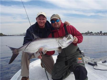 tarpon fishing in winter