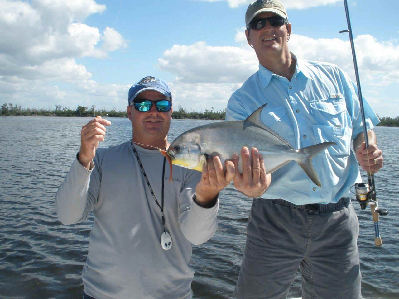 Winter flats fishing charters in charlotte harbor for Pine island fishing charters