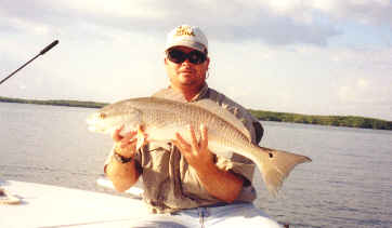 Fishing for redfish near Ft Myers