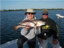 Charlotte Harbor winter redfish